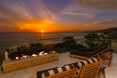Laguna Beach Single Family Home For Sale: 1885 Ocean Way