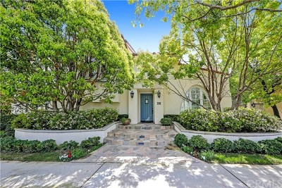 Newport Beach Single Family Home For Sale: 38 Montgomery