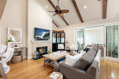 Corona del Mar Condo/Townhouse For Sale: 512 Avocado #B