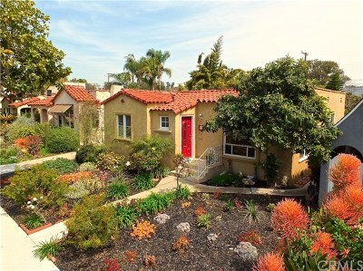 Long Beach Single Family Home For Sale: 646 Quincy Avenue