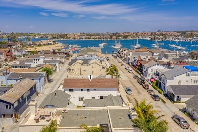 Newport Beach Single Family Home For Sale: 307 Alvarado Place