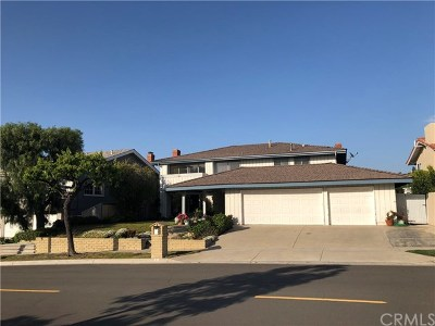 Corona Del Mar Single Family Home Active Under Contract: 6 Point Loma Drive