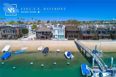 Newport Beach Rental For Rent: 1302 S Bay Front