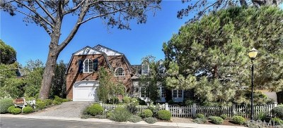 Laguna Beach Single Family Home For Sale: 12 Smithcliffs Road