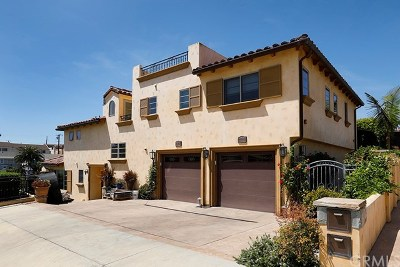 Corona del Mar Condo/Townhouse For Sale: 405 Dahlia Avenue #B