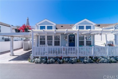 Newport Beach Mobile Home For Sale: 44 Fremont Street
