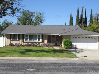 West Covina Single Family Home For Sale: 2319 E Alaska Street