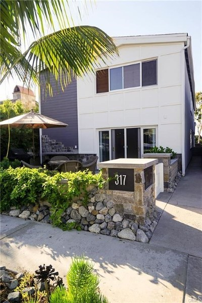 Corona Del Mar, Newport Coast Rental For Rent: 317 Heliotrope Avenue