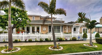 Newport Beach Single Family Home For Sale: 1813 E Balboa Boulevard