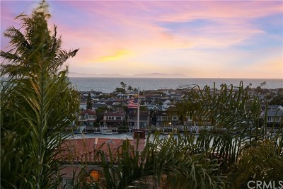 Corona Del Mar Single Family Home For Sale: 2508 Ocean Boulevard