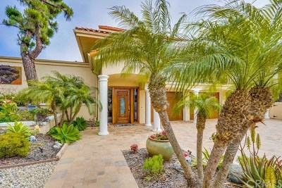 Dana Point Single Family Home For Sale: 32762 Mediterranean Drive