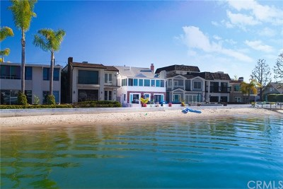 Balboa Island - Main Island (Balm) Single Family Home For Sale: 607 N Bay Front