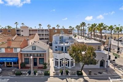 Newport Beach Commercial For Sale: 603 E Balboa Boulevard