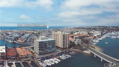 Orange County Rental For Rent: 611 Lido Park Drive #6B