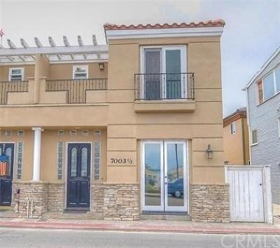 Newport Beach Rental For Rent: 7003 Seashore Drive #1/2