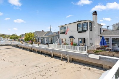 Balboa Island - Main Island (Balm) Single Family Home For Sale: 1403 N Bay Front