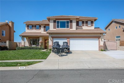 Corona Single Family Home For Sale: 699 Bundy Way
