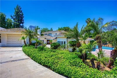 Yorba Linda Single Family Home For Sale: 18900 Westvale Lane
