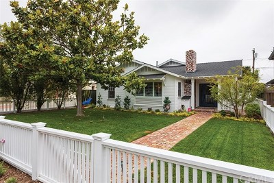 Costa Mesa Single Family Home For Sale: 232 Magnolia Street