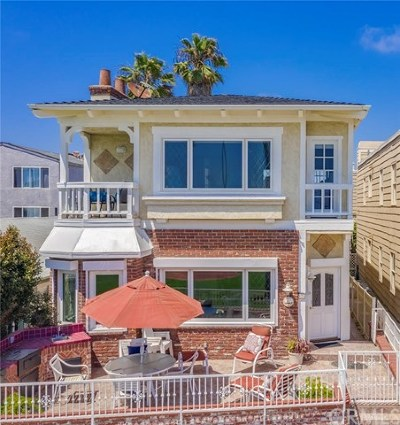Newport Beach Rental For Rent: 920 E Oceanfront