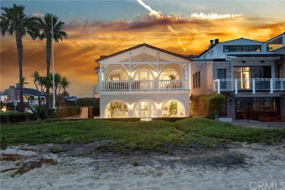 Balboa Peninsula Point (Blpp) Single Family Home For Sale: 1700 E Oceanfront