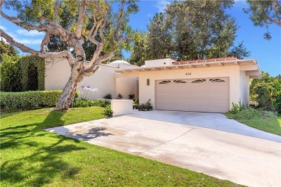 Newport Beach Single Family Home For Sale: 406 Plata