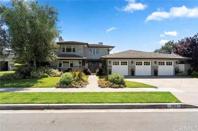 Newport Beach Single Family Home For Sale: 1817 Glenwood Lane