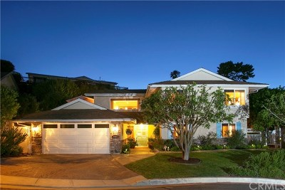 Laguna Beach Single Family Home For Sale: 3053 Nestall Road