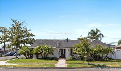 Costa Mesa Single Family Home Active Under Contract: 839 Sonora Road