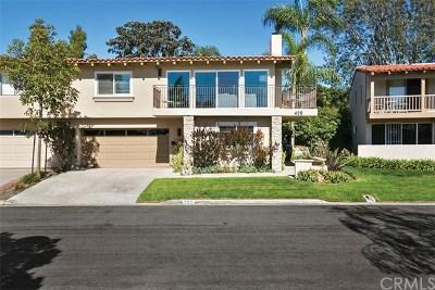 Newport Beach Condo/Townhouse For Sale: 409 Vista Grande