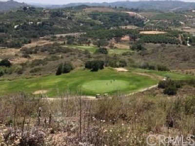Temecula Residential Lots & Land For Sale: Terreno