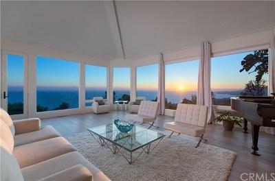 Laguna Beach CA Single Family Home For Sale: $6,995,000