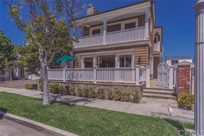 Orange County Rental For Rent: 1410 E Balboa Boulevard