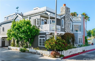 Newport Beach Rental For Rent: 107 Highland Street #B