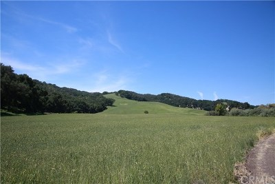 San Luis Obispo County Residential Lots & Land For Sale: Vineyard Drive