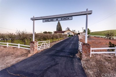 San Luis Obispo County Single Family Home For Sale: 6425 Union Road