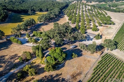 Paso Robles Commercial For Sale: 7210 Vineyard Drive