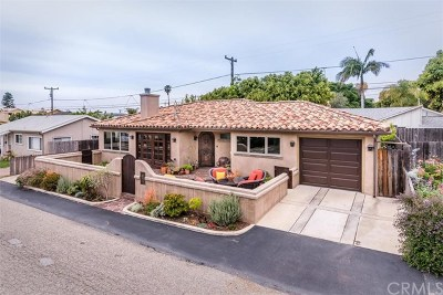 Avila Beach, Pismo Beach Single Family Home For Sale: 138 Capistrano Avenue