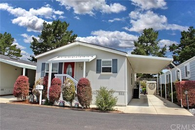 Morro Bay Mobile Home Active Under Contract: 1535 White Pine Drive