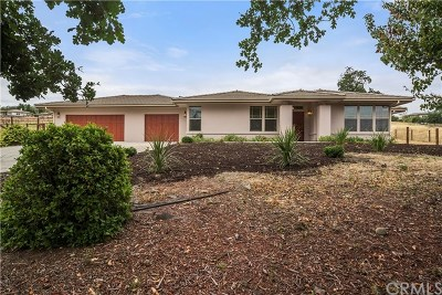 Paso Robles Single Family Home For Sale: 9953 Flyrod Drive