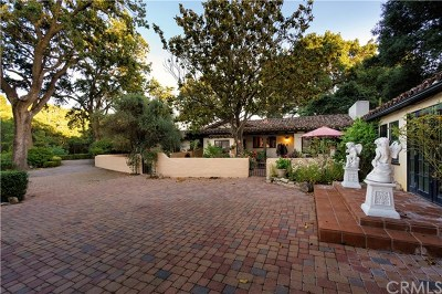 Paso Robles Single Family Home For Sale: 3590 Oakdale Road