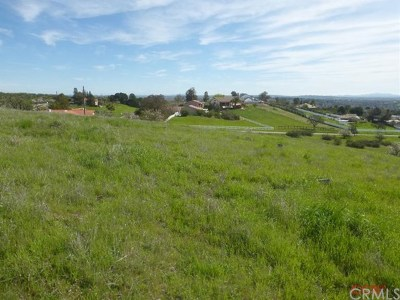 San Luis Obispo County Residential Lots & Land For Sale: Mustang Springs Road
