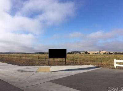 San Luis Obispo County Residential Lots & Land For Sale: Wisteria Lane