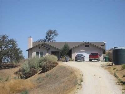 Paso Robles Single Family Home For Sale: 5085 Stagg Hill Place