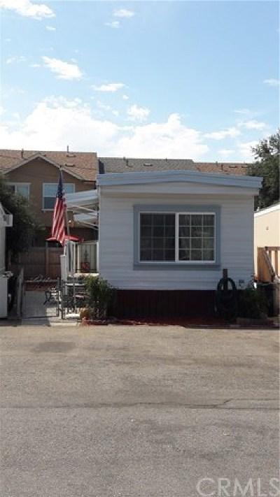 Atascadero Mobile Home For Sale: 5715 Santa Cruz Road