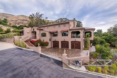 San Luis Obispo CA Single Family Home For Sale: $2,890,000