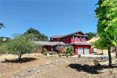Atascadero Single Family Home Active Under Contract: 8775 Casanova Road