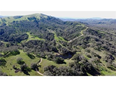 Santa Margarita, Templeton, Atascadero, Paso Robles Residential Lots & Land For Sale: Chimney Rock Road