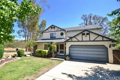 Paso Robles Single Family Home For Sale: 4544 Tumbleweed Way