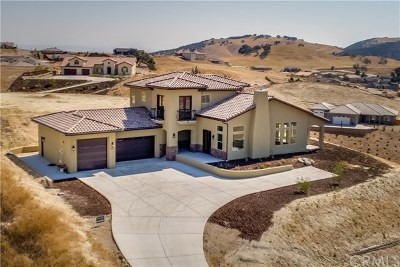 Paso Robles Single Family Home For Sale: 2735 Glenbrook Place